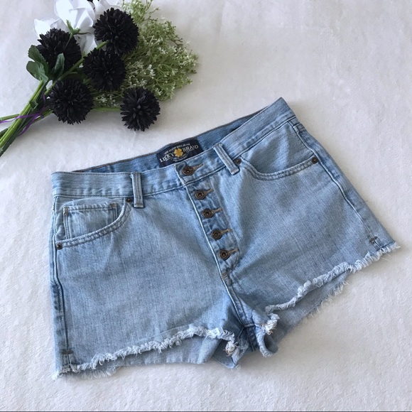 Lucky Brand The High Rise Shortie